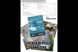 Licenza di pesca anno zero